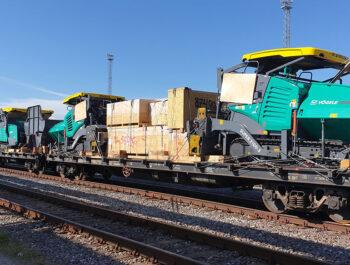 Russland Transporte per LKW und Bahn, Sondertransporte und Schwertransporte