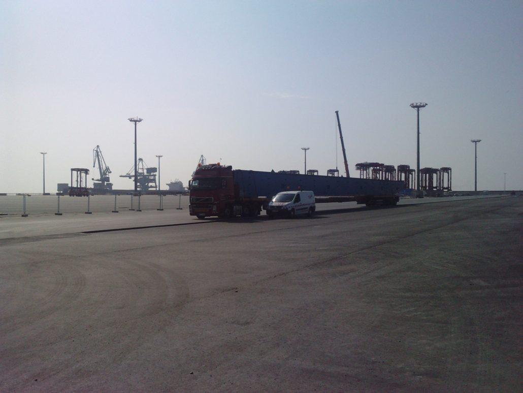 Schwertransport & Sondertransport